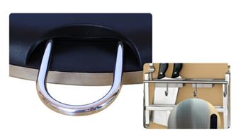 Round design stainless steel kitchen scale 6
