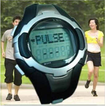 Pulse watch with pedometer