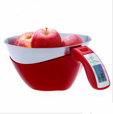 5KG 11lbs Digital Kitchen Scale with Bowl