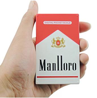 Cigarette case shape Digital Pocket Scale 4