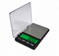 600g*0.01g  3kg*0.1g Pocket Kitchen Scale