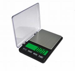 600g*0.01g  3kg*0.1g Pocket Kitchen Scale