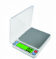 600g*0.01g  6kg*0.1g Kitchen Pocket Scale