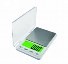 Pocket Scale/Kitchen Scale 600g*0.01g and 6kg*0.1g