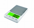 Pocket Scale/Kitchen Scale 600g*0.01g and 6kg*0.1g 2
