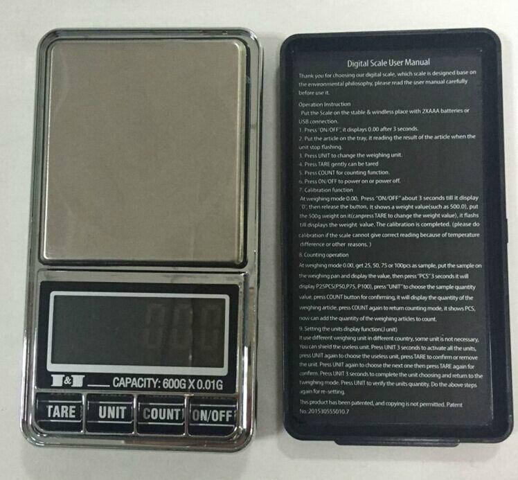 USB Pocket Scale BST-PC34B 2
