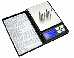 Notebook Scale 2000g*0.1g/500g*0.01g