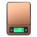 USB Electronic Coffee Scale with Timer and Thermometer BST-K308 4