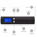 50kg Luggage scale with power bank and flashlight 3