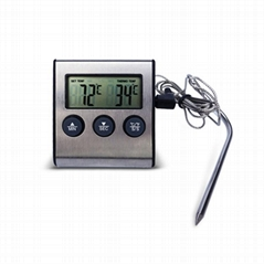 Digital Cooking Food Probe Meat BBQ Grill Thermometer for Smoker Oven Kitchen Th