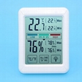 Household mini LCD Digital Thermometer Hygrometer with Jumbo Touchscreen and Bac