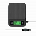 USB Electronic Coffee Scale with Timer and Thermometer BST-K308 2