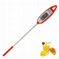 Portable LCD display long Probe Digital thermometer Liquid food Thermometer