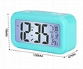 Smart wake up light snooze electronic clock Digital alarm clock for Kids