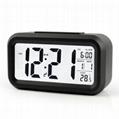 Popular LED Digital wake up light alarm clock Snooze smart Digital clock