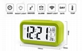 Popular LED Digital wake up light alarm clock Snooze smart Digital clock