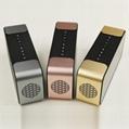 LED Mirror Time Clock Bluetooth Speaker