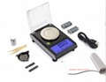 0.001G 50G pocket electronic jewelry scale