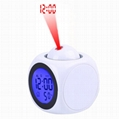 Wholesale cheap projection alarm clock for kids