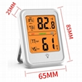 Waterproof wireless temperature humidity Indoor Digital Thermometer Hygrometer w