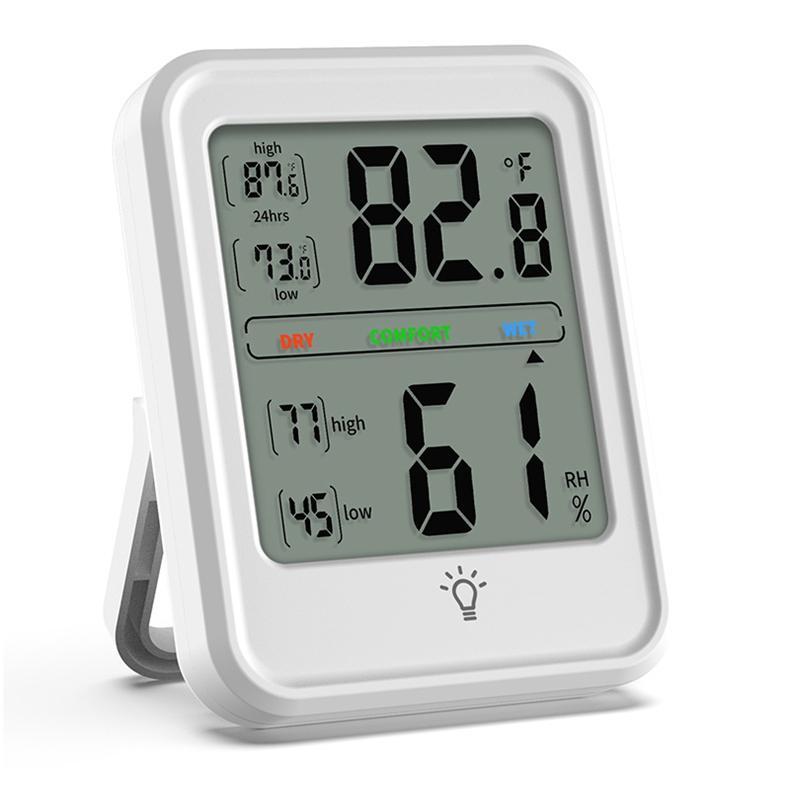Waterproof wireless temperature humidity Indoor Digital Thermometer Hygrometer w