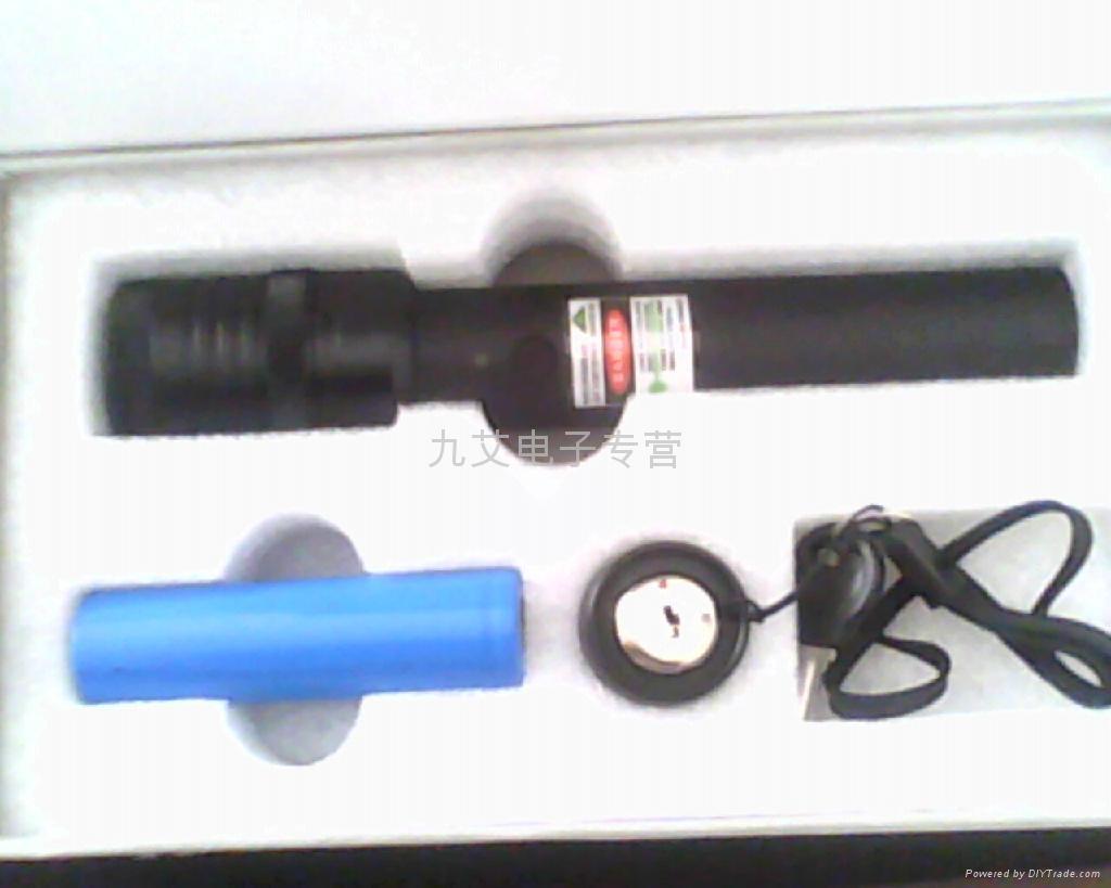 豪华绿光激光笔 3