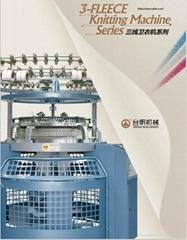 3 Thread Fleece Knitting Machine