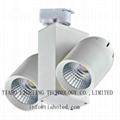led 30w cob track light led track lamp