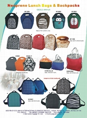 Neoprene Lunch Bags and Backpacks
