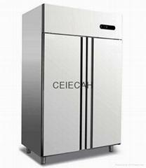 Double Door Vertical Kitchen Freezer