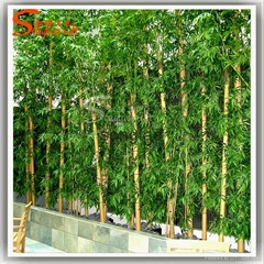 Nearly Natural Green Artificial Bamboo Fabric Silk Tree Plants
