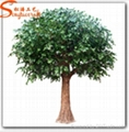 Artificial Fiber Glass Banyan Tree for