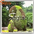 Animal-Shaped Artificial Topiary Plant
