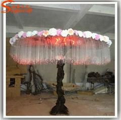 Decorative Light Tree Landscape Fiber