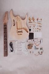 电吉他半成品套装