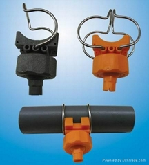 Clamp Plastic Nozzle (ad