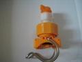 hot sale plastic clamp quick connect nozzle