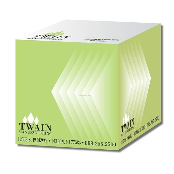 Custom printing memo pad cube 1