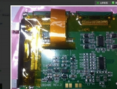 PROVIDE APEX Mechanical arm Using lcd module SG320240E REV.2 SG320240EFWB-GS-K