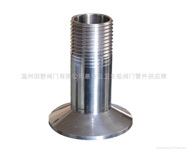 快装外丝不锈钢转换接头食品级管件接头 1