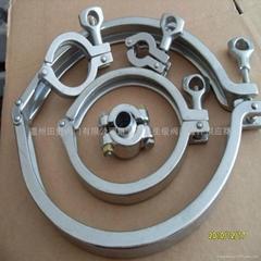 廠家批發304不鏽鋼精鑄卡箍Tri -Clamp