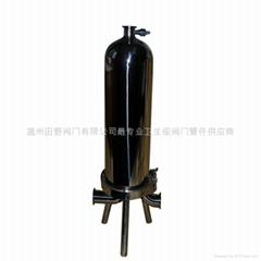 不锈钢微孔膜除菌过滤器0.22um过滤精度酒饮料除菌过滤