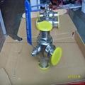 304不锈钢快装球阀卡箍式卫生球阀 5