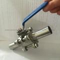 卫生级加长自动焊球阀3PC不锈