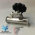 316L不锈钢卡箍快装隔膜阀生物制药专用 2