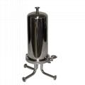 Pure steam sampling condenser