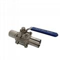 三片式加长自动焊球阀extended automatic ball valve 5