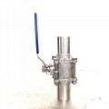 三片式加长自动焊球阀extended automatic ball valve 4