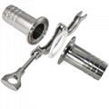 快裝外絲不鏽鋼轉換接頭食品級管件接頭 5