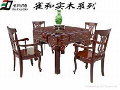 南京高檔麻將機實木系列